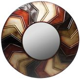 Swirl Circle Wall Mirror
