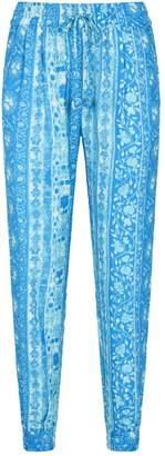 HEMANT AND NANDITA Cuffed Hem Trousers