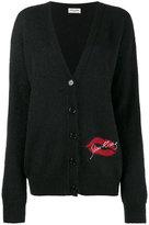 Saint Laurent Slow Kissing cardigan