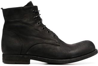 Officine Creative Bubble lace-up boots