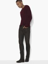 John Varvatos Wight Coated Cotton Jean