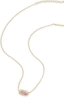 Kendra Scott Elisa Statement Necklace in Yellow Gold Plate