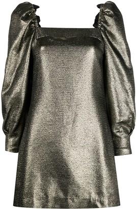 Sandro Paris Lame Mini Dress