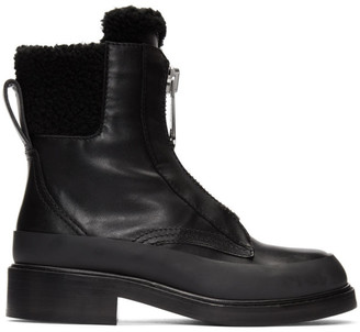 Chloé Black Roy Ankle Boots