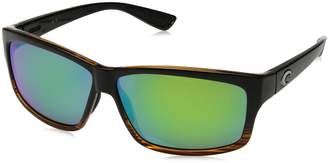 Costa del Mar Cut Sunglasses Coconut Fade/Green Mirror 580Plastic