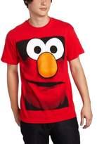 Sesame Street Mad Engine Men's Elmo Big Box Face T-Shirt