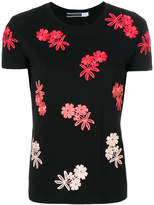 Sportmax embroidered flower T-shirt
