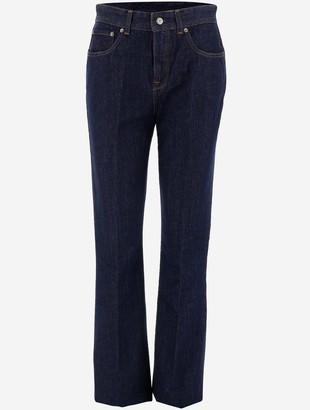 Golden Goose High-Waist Denim Blue Women's Jeans