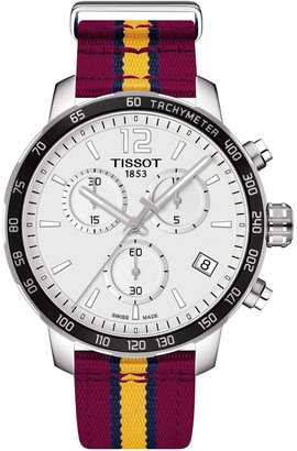 Tissot Men's Quickster Chronograph NBA Cleveland Cavaliers Watch, 42mm