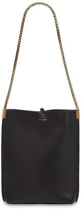 Saint Laurent Small Hobo Chain Leather Shoulder Bag