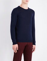 BOSS Crewneck knitted wool jumper