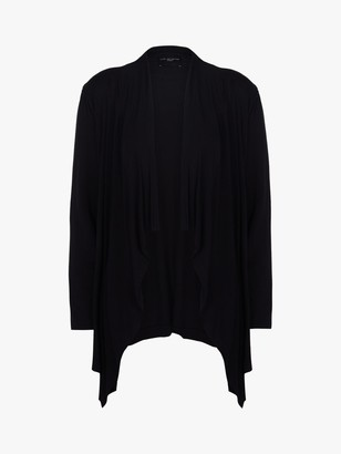 Live Unlimited Curve Longline Cardigan, Black