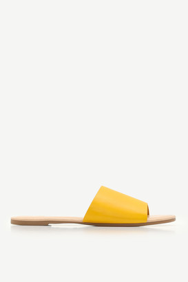 Ardene Faux Leather Slides