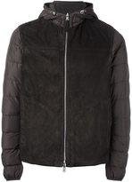 Eleventy padded hooded jacket