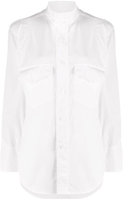 Y's Long Sleeve Flap Pocket Shirt