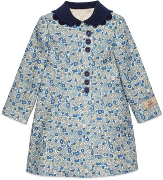 Gucci Children's Liberty floral coat