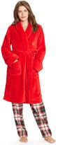 Ralph Lauren Plush Shawl-Collar Robe