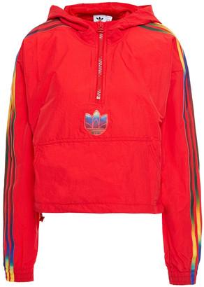 adidas Printed Shell Hooded Jacket