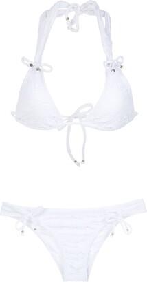 AMIR SLAMA textured bikini set