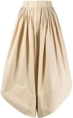 Chloé Flou cropped trousers