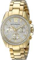Wittnauer Women's WN4043 16mm Stainless Steel Gold Bracelet Watch