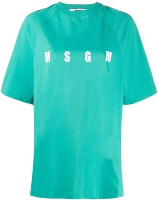MSGM Milano print T-shirt