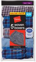 Red Label Hanes Boys Tartan Boxer