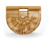 Cult Gaia Gaia's Ark Small Bamboo Clutch Bag