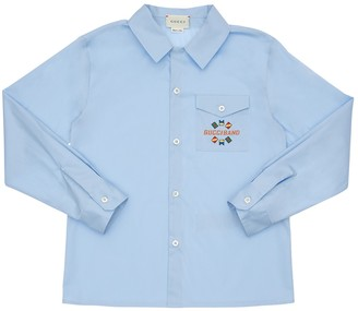 Gucci Stretch Cotton Poplin Shirt