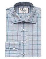 Thomas Pink Jarlwindow Pane Check Classic Fit Button Cuff Shirt