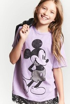 FOREVER 21 girls Girls Mickey Mouse Tee (Kids)