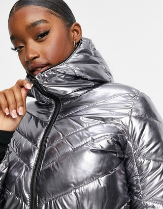 Dare 2b Dare2b Reputable ski jacket in chrome silver