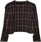 Laurèl Black Linen Jacket for Women Vintage