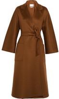 Max Mara Labro Oversized Cashmere Coat - Brown