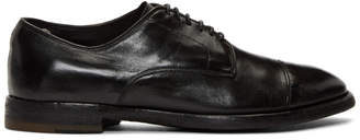 Officine Creative Black Princeton 44 Oxfords