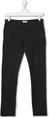 Paolo Pecora Kids mid-rise slim-fit chinos