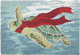 Liora Manné Turtle Season Hand-Hooked Doormat