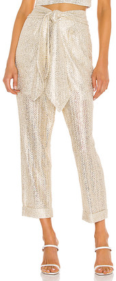 IORANE Metallic Trouser