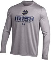 Under Armour Men's Notre Dame Fighting Irish Tech Long-Sleeve Tee