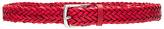 Rag & Bone Slim Braided Belt in Red