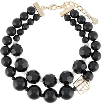 Emporio Armani Double-Layer Beaded Necklace