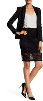 Susina Banded Lace Skirt
