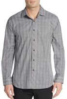 Jared Lang Regular-Fit Glen Plaid Cotton Sportshirt