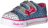 Skechers Twinkle Toes Shuffles Sweet Steps Light-Up Sneaker (Toddler/Little Kid)