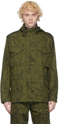 Givenchy Khaki Astral Military Jacket