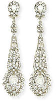 Jose & Maria Barrera Victorian-Style Crystal Drop Earrings