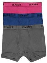 2xist Men's 3-Pack Cotton Boxer Briefs