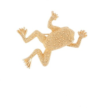 Christian Dior Pre-Owned Frog Motif Brooch