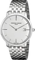 Frederique Constant Men's FC-306S4S6B Curved Index Dial Watch