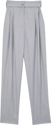 Burberry Back Cut-Out Tailored Trousers